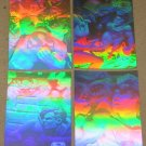 Superman Holo Series (Fleer/SkyBox 1996) HoloAction Card Set EX