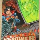 DC Outburst FirePower (Fleer/SkyBox 1996) Maximum Card #2 EX-MT