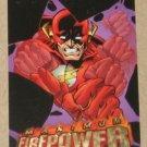 DC Outburst FirePower (Fleer/SkyBox 1996) Maximum Card #13 EX-MT