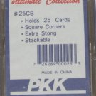 """PKK Ultimate Collection 25 Count 2-Pieces Card Storage Box 1 Pack of 2 """"New"""""""