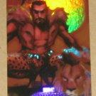 Marvel Masterpieces Set 1 (Upper Deck 2007) Fleer Parallel Foil Card #48- Kraven the Hunter EX-MT