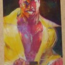 Marvel Masterpieces Set 1 (Upper Deck 2007) Fleer Parallel Foil Card #52- Luke Cage EX-MT