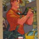 Marvel Masterpieces Set 1 (Upper Deck 2007) Spider-Man Insert Card S2- Peter Parker EX-MT