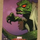 Marvel Masterpieces Set 1 (Upper Deck 2007) Spider-Man Insert Card S9- The Lizard EX-MT