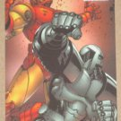 Marvel Heroes and Villains (Rittenhouse 2010) Parallel Card #43- Iron Man vs. Titanium Man EX