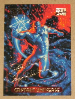 32e3fff1af8 Marvel Masterpieces 1994 (Fleer) Gold-Foil Signature Parallel Card  19