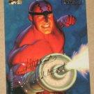Marvel Masterpieces 1994 (Fleer) Gold-Foil Signature Parallel Card #63- Klaw EX-MT
