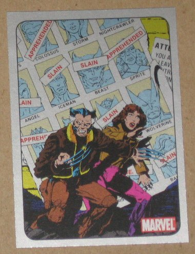 70 Years of Marvel Comics (Rittenhouse 2010) Metalic Ink Parallel Card #44- 1981 EX