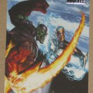 Marvel Heroes and Villains (Rittenhouse 2010) Parallel Card #20- Nova vs. Super-Skrull NM