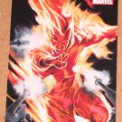 70 Years of Marvel Comics (Rittenhouse 2010) Tribute Card T8- Human Torch EX