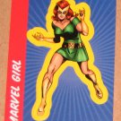 70 Years of Marvel Comics (Rittenhouse 2010) Sticker Card S15- Marvel Girl EX-MT