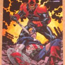 Marvel Heroes and Villains (Rittenhouse 2010) Parallel Card #50- Captain America vs. Red Skull NM