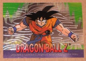 Dragon Ball Z Chromium Archive Edition (Artbox 2000) Parallel Sticker Card #6 NM