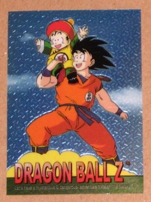 Dragon Ball Z Chromium Archive Edition (Artbox 2000) Parallel Sticker Card #32 NM