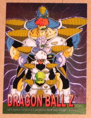 Dragon Ball Z Chromium Archive Edition (Artbox 2000) Parallel Sticker Card #51 NM
