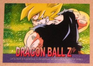 Dragon Ball Z Chromium Archive Edition (Artbox 2000) Parallel Sticker Card #62 NM