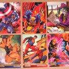 DC versus Marvel (Fleer/SkyBox 1995) - Single Cards