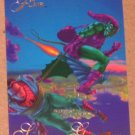 1994 Flair Marvel Universe (Fleer) Card #22- Spider-Man vs. Green Goblin EX