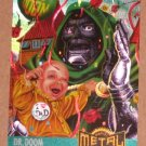 Marvel Metal (Fleer 1995) Card #128- Dr. Doom VG
