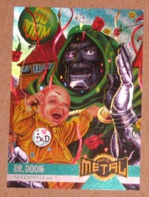Marvel Metal (Fleer 1995) Card #128- Dr. Doom VG