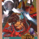 Marvel Metal (Fleer 1995) Card #132- Rogue EX