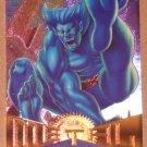 Marvel Metal (Fleer 1995) Card #85- Beast EX-MT