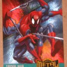 Marvel Metal (Fleer 1995) Card #134- Spider-Man EX-MT
