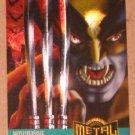 Marvel Metal (Fleer 1995) Card #137- Wolverine EX-MT