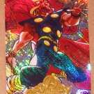 Marvel Masterpieces Set 2 (Upper Deck 2008) Avengers Chase Card A 7 - Thor EX-MT