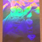 Superman Holo Series (Fleer/SkyBox 1996) Gold Card #10- Power Move! VG
