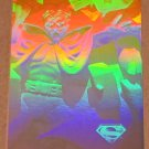 Superman Holo Series (Fleer/SkyBox 1996) Gold Card #28- Brain Storm! VG