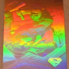 Superman Holo Series (Fleer/SkyBox 1996) Gold Card #20- Like Gangbusters! EX-MT