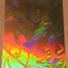 Superman Holo Series (Fleer/SkyBox 1996) Gold Card #43- Unjust Cause EX-MT