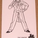 Batman and Robin, The Adventures of (SkyBox 1995) Coloring Card C3- Joker G