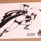 Batman and Robin, The Adventures of (SkyBox 1995) Coloring Card C1- Batman VG