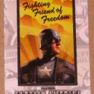 Captain America The First Avenger Movie (Upper Deck 2011) Poster Series Card P-9 EX