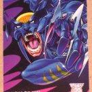 Amalgam (Fleer/SkyBox 1996) Preview Card #3- Dark Claw G
