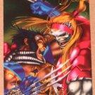1994 Flair Marvel Universe (Fleer) Card #86- Omega Red vs Wolverine VG