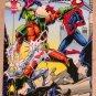Spider-Man, the Amazing (Fleer 1994) Card #88- Spider-Man & X-Men VG