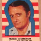 Superman 3 (Topps 1983) Sticker Card #3- Ross Webster VG