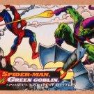 Spider-Man, the Amazing (Fleer 1994) Card #100- Spider-Man vs. Green Goblin EX