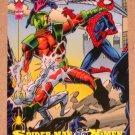 Spider-Man, the Amazing (Fleer 1994) Card #88- Spider-Man & X-Men EX-MT