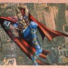 Marvel Premium QFX (Fleer/SkyBox 1997) Heroes Reformed PhotoGraphix Card #9- Thor EX