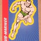 70 Years of Marvel Comics (Rittenhouse 2010) Sticker Card S6- Sub-Mariner EX