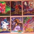 Marvel Metal (Fleer 1995) - Single Cards