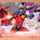 Avengers Kree-Skrull War (Upper Deck 2011) Character Card #2- Captain Marvel EX