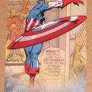 Avengers Kree-Skrull War (Upper Deck 2011) Retro Card R-4 Captain America EX