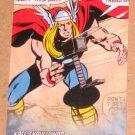 Avengers Kree-Skrull War (Upper Deck 2011) Retro Card R-24 Thor EX