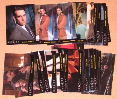 Heroes Volume 2 (Topps 2008) - Lot of 35 Cards EX