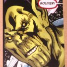 Avengers Kree-Skrull War (Upper Deck 2011) Untold Tales Soldier's Honor Card 5-18 EX